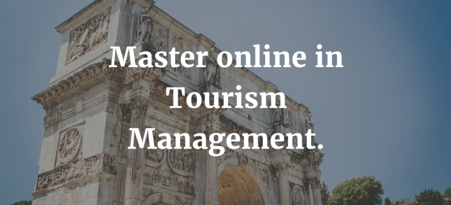 Master online in tourism Management a Napoli.